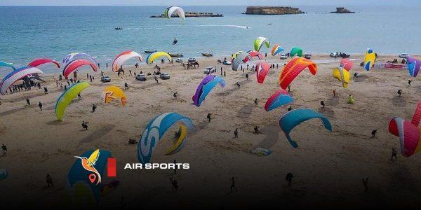 ورزشهای بادی در جزایر ناز