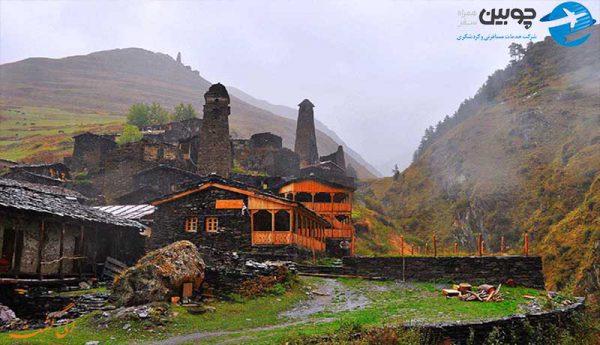 پارک ملی توشتی گرجستان